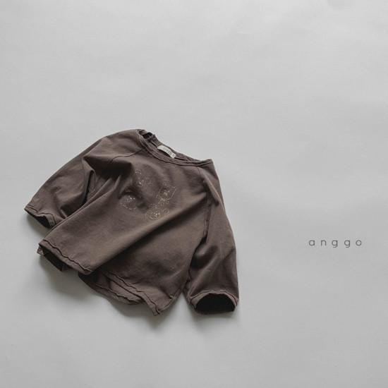 ANGGO - Korean Children Fashion - #Kfashion4kids - Kumakuma Tee - 8