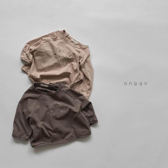 ANGGO - Korean Children Fashion - #Kfashion4kids - Kumakuma Tee - 9