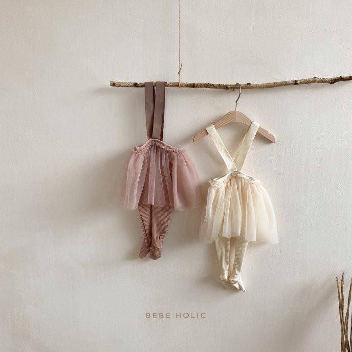 BEBE HOLIC - Korean Children Fashion - #Kfashion4kids - Vivi Cha Foot Leggings - 2
