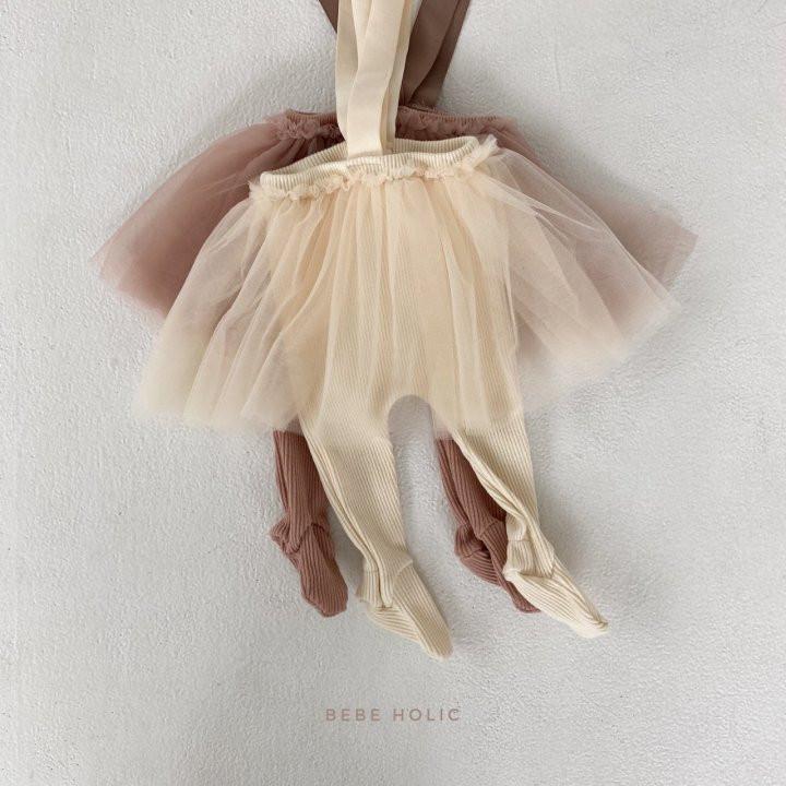 BEBE HOLIC - Korean Children Fashion - #Kfashion4kids - Vivi Cha Foot Leggings - 5