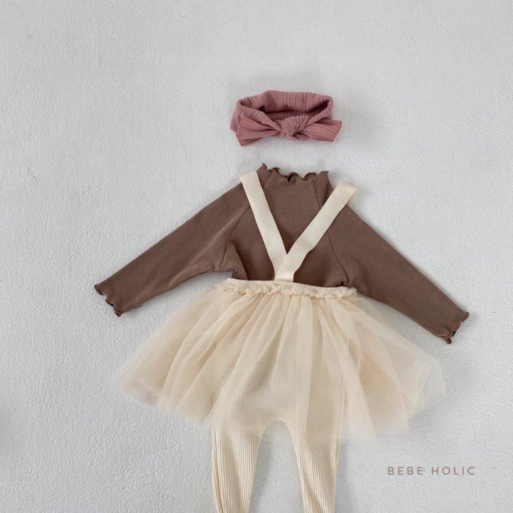 BEBE HOLIC - Korean Children Fashion - #Kfashion4kids - Vivi Cha Foot Leggings - 9