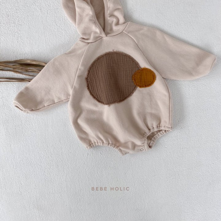 BEBE HOLIC - Korean Children Fashion - #Kfashion4kids - Round Patch Bodysuit - 9
