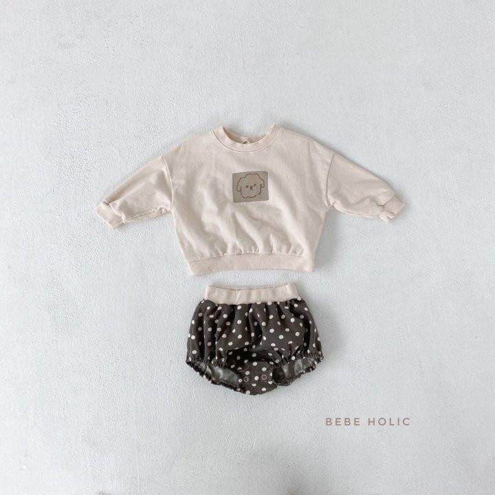 BEBE HOLIC - Korean Children Fashion - #Kfashion4kids - Puppy Top Bottom Set - 6