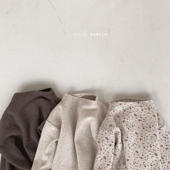 BELLA BAMBINA - Korean Children Fashion - #Kfashion4kids - Bebe Urban Half Turtleneck Tee - 3