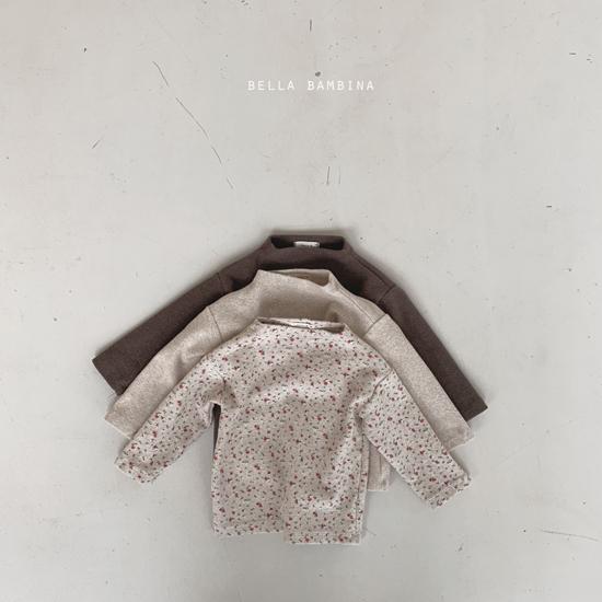 BELLA BAMBINA - Korean Children Fashion - #Kfashion4kids - Bebe Urban Half Turtleneck Tee - 4
