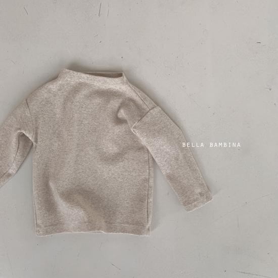 BELLA BAMBINA - Korean Children Fashion - #Kfashion4kids - Bebe Urban Half Turtleneck Tee - 6