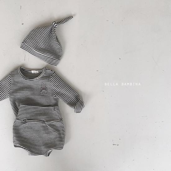BELLA BAMBINA - Korean Children Fashion - #Kfashion4kids - Bebe Rabbit Set with Hat - 11