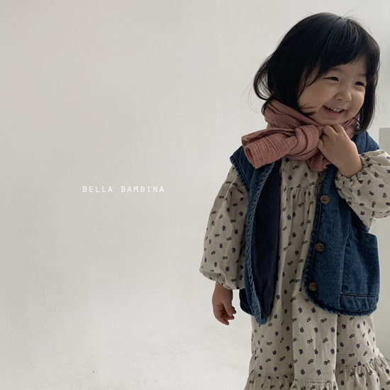 BELLA BAMBINA - Korean Children Fashion - #Kfashion4kids - Bella Simple Muffler - 10