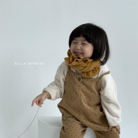 BELLA BAMBINA - Korean Children Fashion - #Kfashion4kids - Bella Simple Muffler - 9