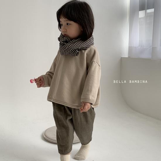 BELLA BAMBINA - Korean Children Fashion - #Kfashion4kids - Bella Check Muffler - 10