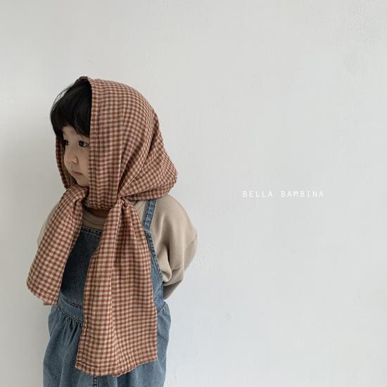 BELLA BAMBINA - Korean Children Fashion - #Kfashion4kids - Bella Check Muffler - 7