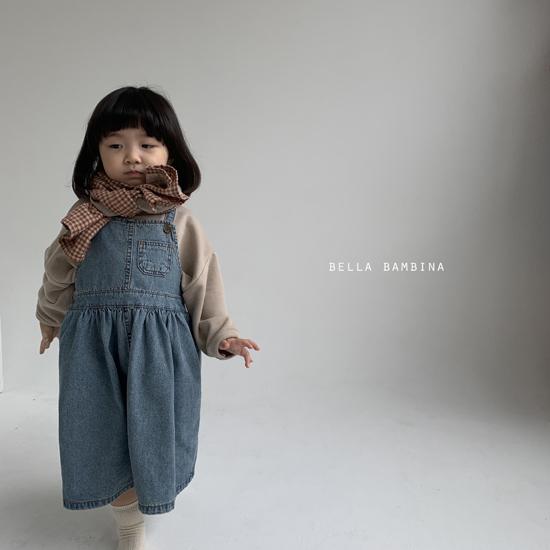 BELLA BAMBINA - Korean Children Fashion - #Kfashion4kids - Bella Check Muffler - 9