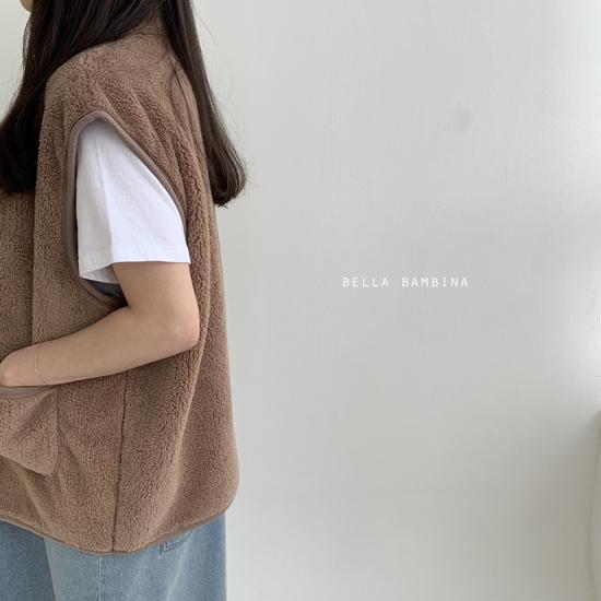 BELLA BAMBINA - Korean Children Fashion - #Kfashion4kids - Adult Overfit Vest - 10