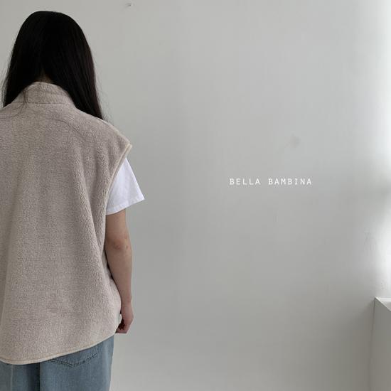 BELLA BAMBINA - Korean Children Fashion - #Kfashion4kids - Adult Overfit Vest - 11