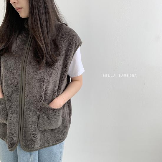 BELLA BAMBINA - Korean Children Fashion - #Kfashion4kids - Adult Overfit Vest - 12