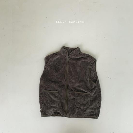 BELLA BAMBINA - Korean Children Fashion - #Kfashion4kids - Adult Overfit Vest - 8