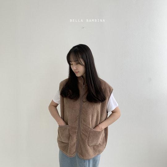 BELLA BAMBINA - BRAND - Korean Children Fashion - #Kfashion4kids - Adult Overfit Vest