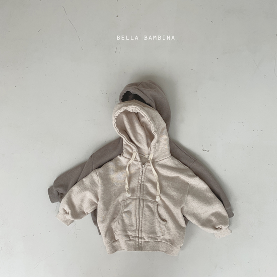 BELLA BAMBINA - Korean Children Fashion - #Kfashion4kids - Soft Hood Zip-up Jacket