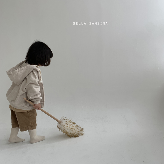 BELLA BAMBINA - Korean Children Fashion - #Kfashion4kids - Soft Hood Zip-up Jacket - 10