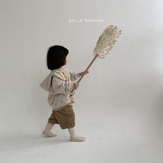 BELLA BAMBINA - Korean Children Fashion - #Kfashion4kids - Soft Hood Zip-up Jacket - 11