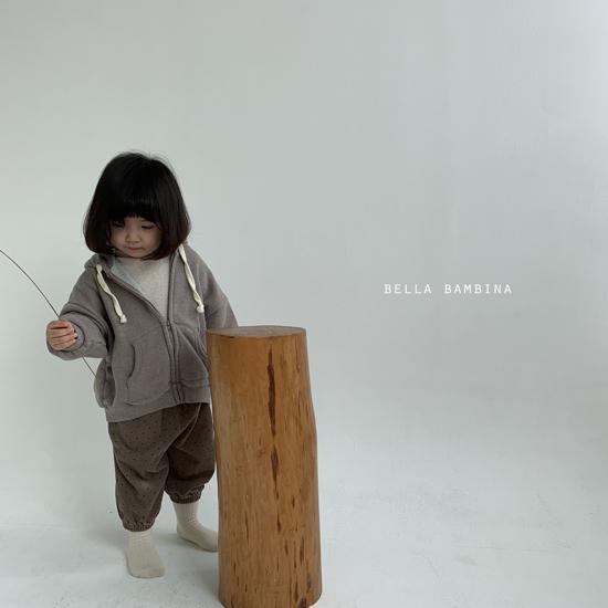 BELLA BAMBINA - Korean Children Fashion - #Kfashion4kids - Soft Hood Zip-up Jacket - 12