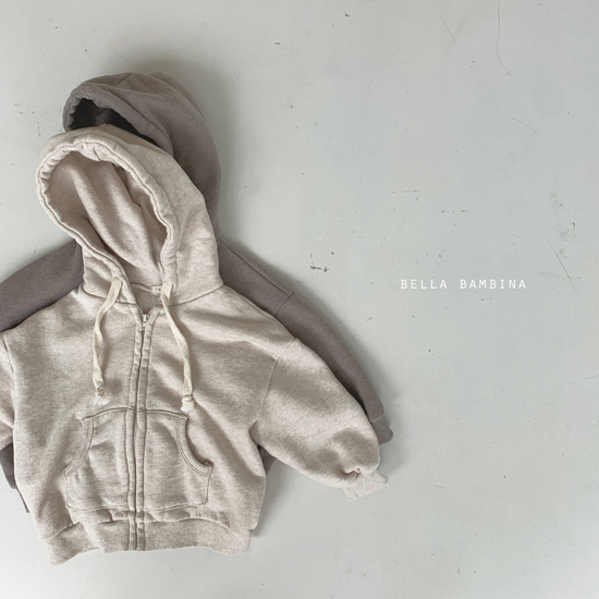 BELLA BAMBINA - Korean Children Fashion - #Kfashion4kids - Soft Hood Zip-up Jacket - 2