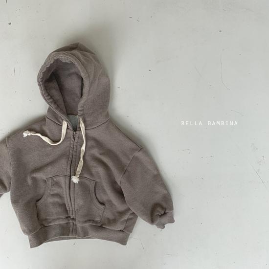 BELLA BAMBINA - Korean Children Fashion - #Kfashion4kids - Soft Hood Zip-up Jacket - 6