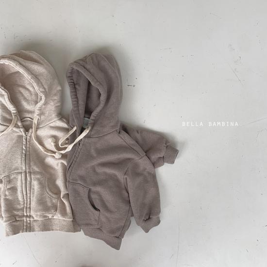 BELLA BAMBINA - Korean Children Fashion - #Kfashion4kids - Soft Hood Zip-up Jacket - 9