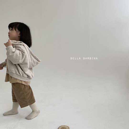 BELLA BAMBINA - BRAND - Korean Children Fashion - #Kfashion4kids - Soft Hood Zip-up Jacket