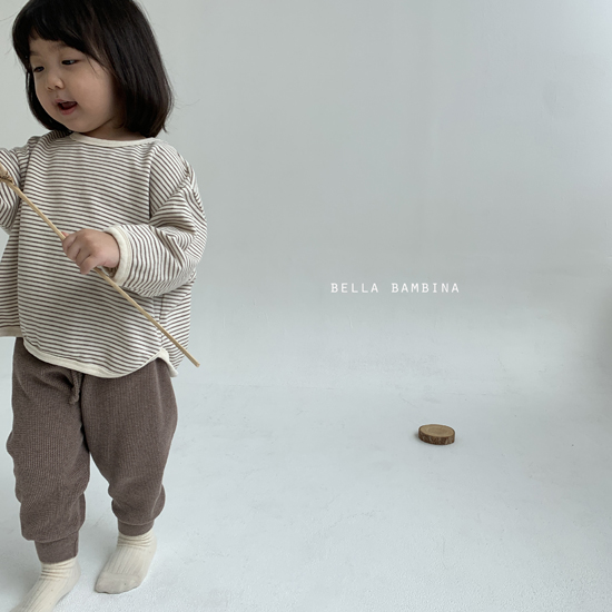 BELLA BAMBINA - Korean Children Fashion - #Kfashion4kids - Twist Waffle Pants - 10