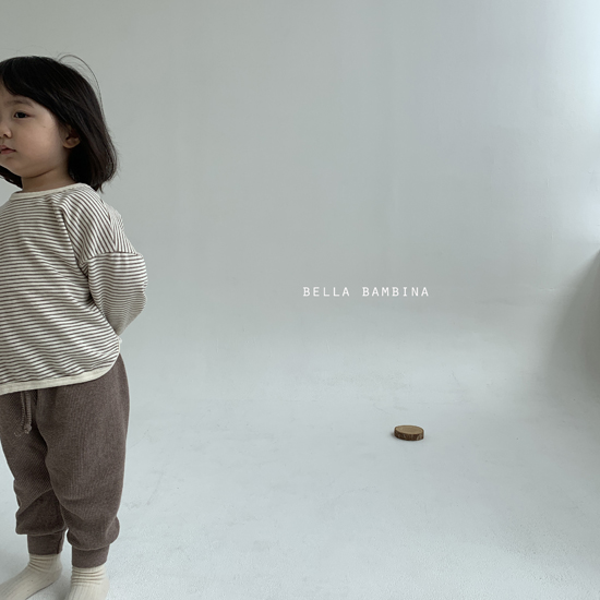 BELLA BAMBINA - Korean Children Fashion - #Kfashion4kids - Twist Waffle Pants - 12