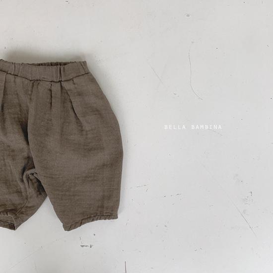 BELLA BAMBINA - Korean Children Fashion - #Kfashion4kids - Paul Finger Pants - 7