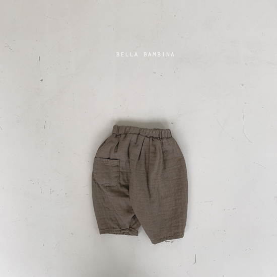 BELLA BAMBINA - Korean Children Fashion - #Kfashion4kids - Paul Finger Pants - 8