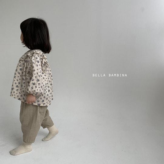 BELLA BAMBINA - BRAND - Korean Children Fashion - #Kfashion4kids - Paul Finger Pants