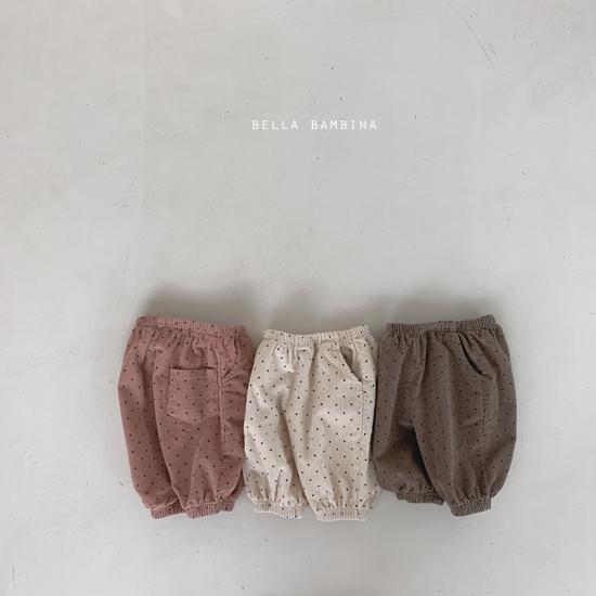 BELLA BAMBINA - Korean Children Fashion - #Kfashion4kids - Dot Slacks