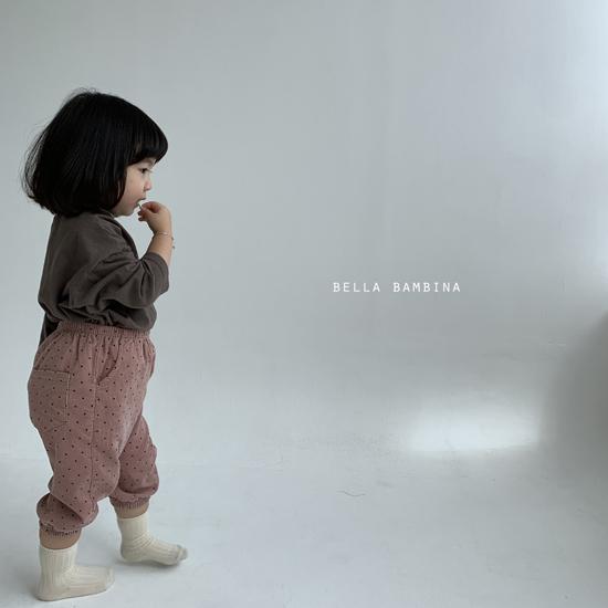 BELLA BAMBINA - Korean Children Fashion - #Kfashion4kids - Dot Slacks - 12