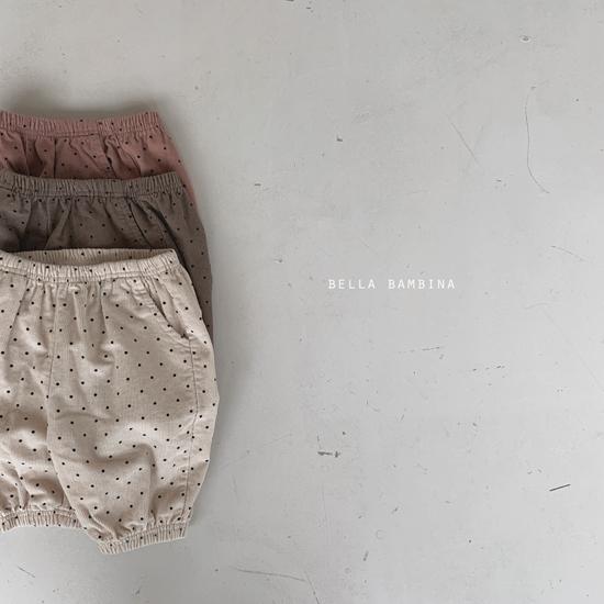 BELLA BAMBINA - Korean Children Fashion - #Kfashion4kids - Dot Slacks - 2