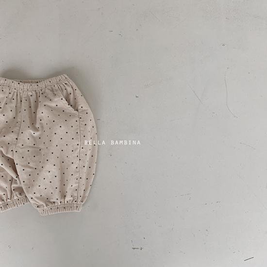 BELLA BAMBINA - Korean Children Fashion - #Kfashion4kids - Dot Slacks - 3