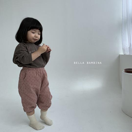 BELLA BAMBINA - BRAND - Korean Children Fashion - #Kfashion4kids - Dot Slacks