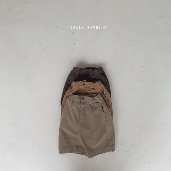 BELLA BAMBINA - Korean Children Fashion - #Kfashion4kids - Rib Denny Midi Pants