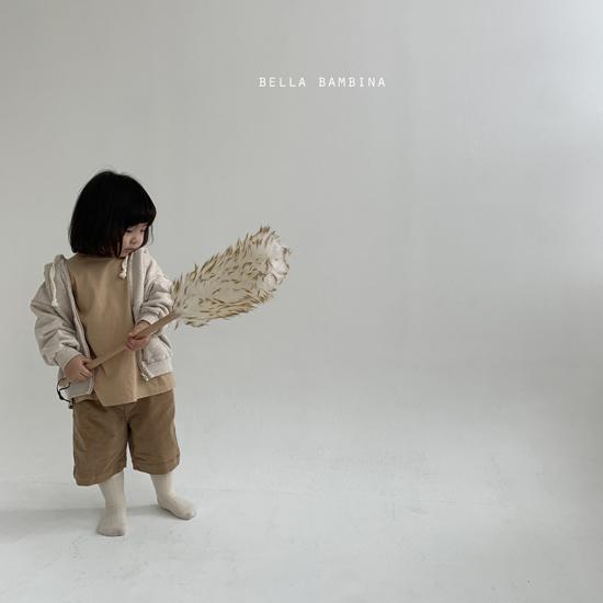 BELLA BAMBINA - Korean Children Fashion - #Kfashion4kids - Rib Denny Midi Pants - 10