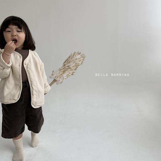 BELLA BAMBINA - Korean Children Fashion - #Kfashion4kids - Rib Denny Midi Pants - 11