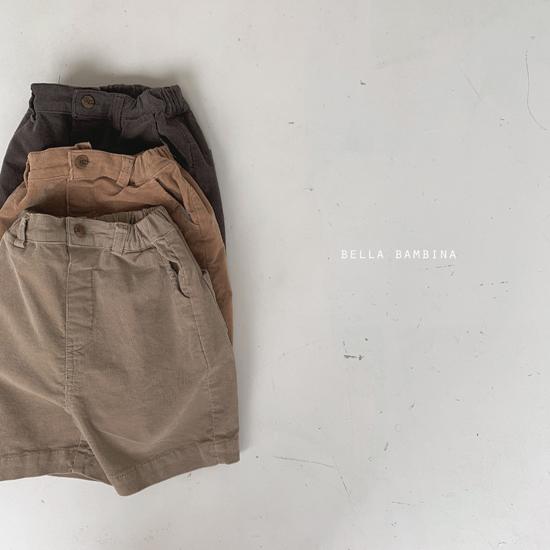 BELLA BAMBINA - Korean Children Fashion - #Kfashion4kids - Rib Denny Midi Pants - 2