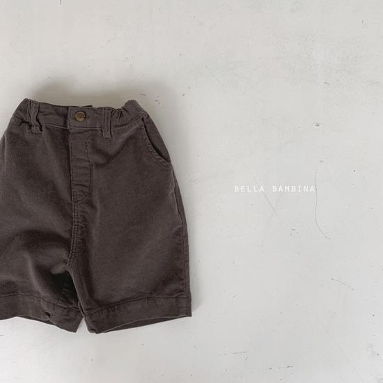 BELLA BAMBINA - Korean Children Fashion - #Kfashion4kids - Rib Denny Midi Pants - 8