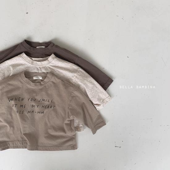 BELLA BAMBINA - Korean Children Fashion - #Kfashion4kids - My Heart Tee - 2