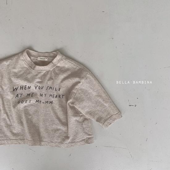 BELLA BAMBINA - Korean Children Fashion - #Kfashion4kids - My Heart Tee - 4