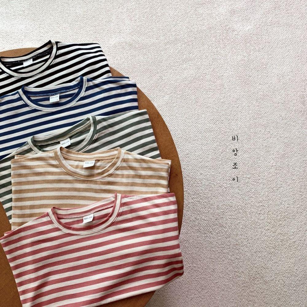 BIEN JOIE - Korean Children Fashion - #Kfashion4kids - Link Stripe Tee