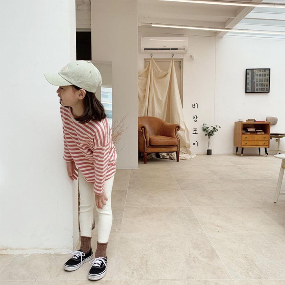 BIEN JOIE - BRAND - Korean Children Fashion - #Kfashion4kids - Link Stripe Tee
