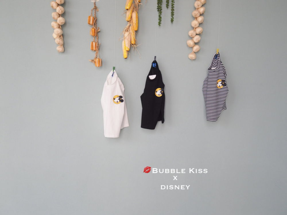 BUBBLE KISS - Korean Children Fashion - #Kfashion4kids - Laugh Mickey Tee