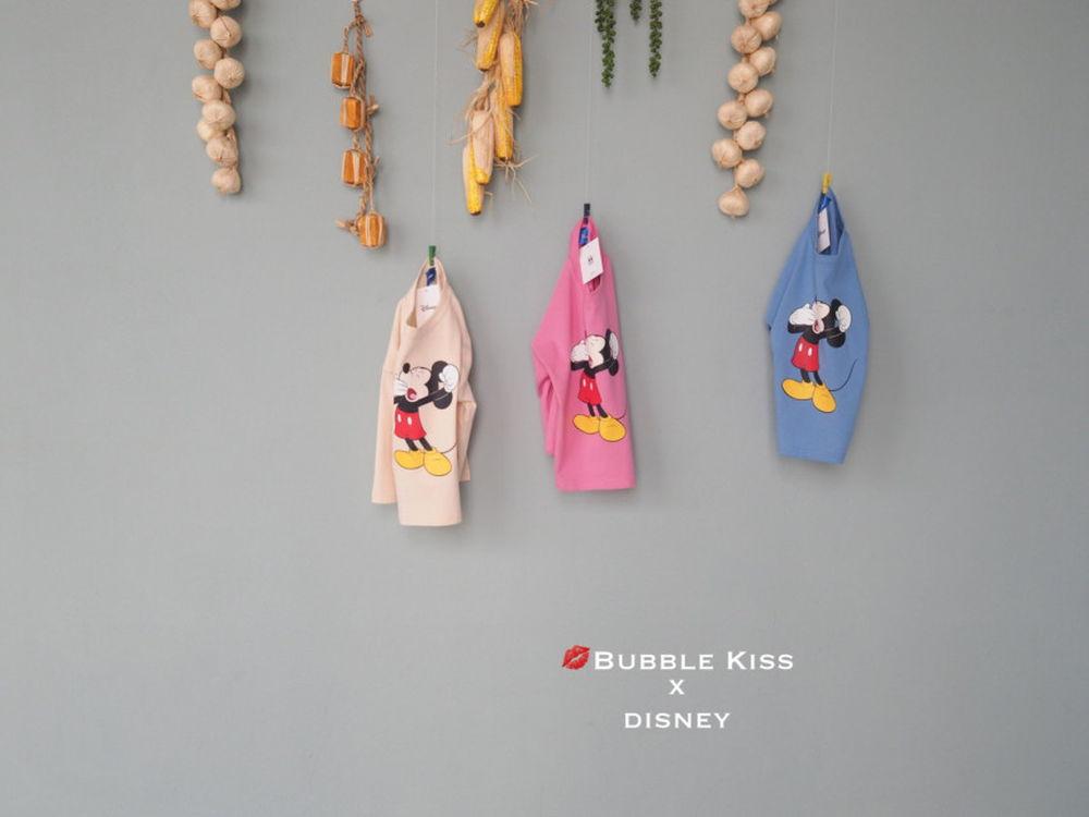 BUBBLE KISS - Korean Children Fashion - #Kfashion4kids - Yawn Mickey Tee